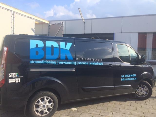 BDK installatietechniek Bedrijfsauto